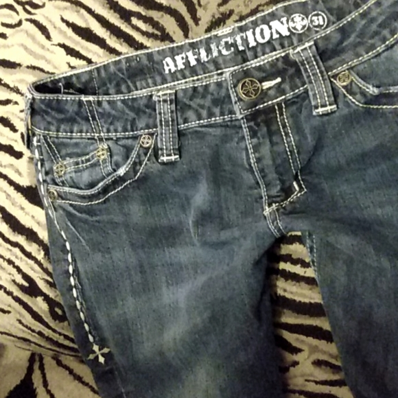 Affliction American Customs bootcut jeans Size 31